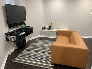 Studio basement Aprt for travelers & Backpackers