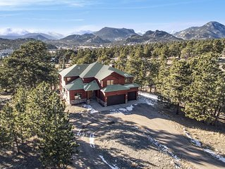 Luxury Home In Estes Park with Views of the Continental Divide  #3201