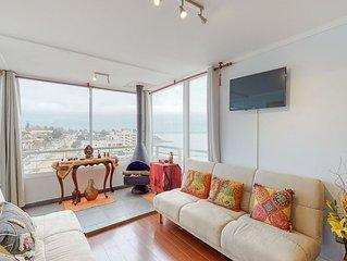 Unique, coastal apartment w/ a full kitchen plus breathtaking city & bay views!