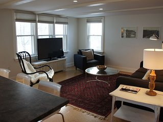 Bright, Airy Flat in Downtown Century Home