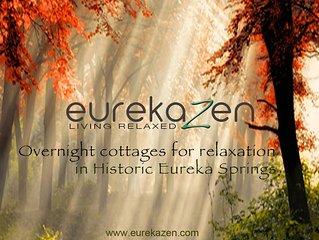 Eureka Zen Wishing Star, one of Eureka Springs most beautiful rental cottages.