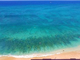 High Floor beachfront condo with Spectacular View at the Hawaiian Princess