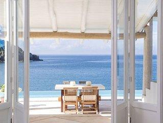 Careyes Beachfront Villa - Luxury 4 Bedroom Casita, Full Staff.