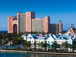 2BR/2BA Lock-Off unit sleeps up to 8 w/full access to Atlantis Resort included