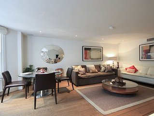 SALE! Spacious Modern Comfort for up to 5, in Kensington near Holland Park!