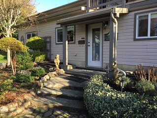 A convenient and comfortable self catered suite close to downtown Courtenay.