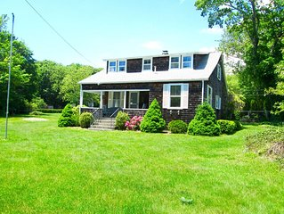 In the Village, walk to town! Great porch and huge yard!