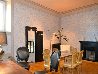 Charming 3 bedroom Brand New Apartment in a Historic Building.