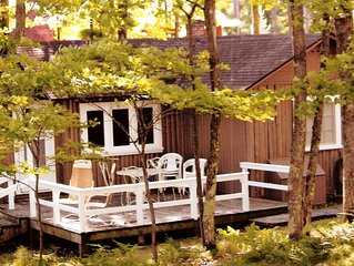 August Weeks Available! Little St Germain Lake Cabin