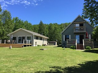 Remodeled Cottage on Crooked Lake- Sleeps  8