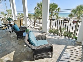 Gulf Front 3B 3B House w/ Pool (sleeps 10) * Contact 4 Snow Bird Rates *