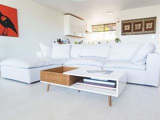 Modern newly renovated home with killer views: stylish and comfortable.