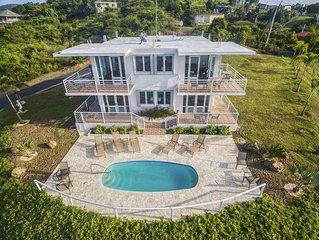 Villa Del Sol - 1 BR/East - Panoramic Ocean View/pool/short Walk to the Beach