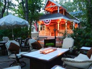 Gigantic Beach House -  Chalet-Style Porch