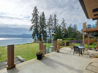 Private Waterfront House Overlooking the Sooke Basin