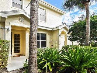 Fiddlers Creek-Hawks Nest (Naples, FL) 3 bdrm, 2 bath End Unit