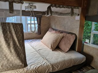A city glamping experience!