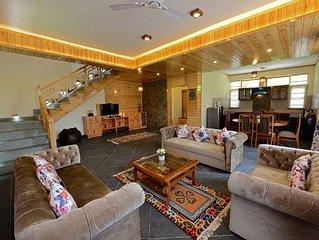 3BHK Luxury Cottage in Treetops Cottage,Manali