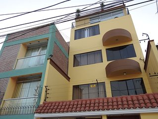 5 Storey Building Up to 15 Guests Lima's Seaside