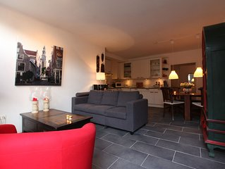 Lovely Ground Fl. Apartment in Historic Canal House, Jordaan, Center, Amsterdam
