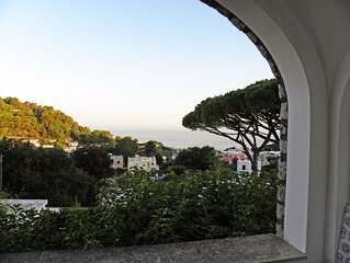 Tiberio House with fantastic view in a quiet area