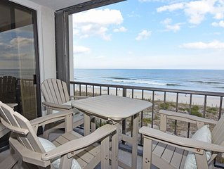 Station One - 4E Coulter-Oceanfront condo with community pool, tennis, beach