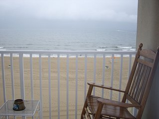 3 BDs,2 Ba  direct oceanfront in Resort Area  w Pool at Dolphin Run of VA Beach