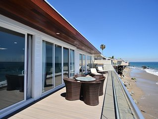 Malibu Beachfront Escape - 2 Bedroom Beachfront Home!
