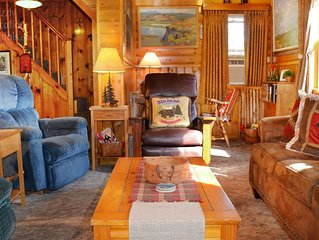 Authentic big bear cabin, close to lake/village, dogs,  great couple's getaway