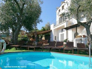 Panoramic Holiday House Casa Gaia Sorrento