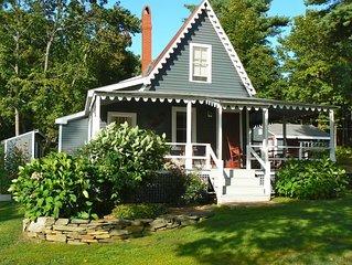 Authentic Coastal Maine Cottage Living