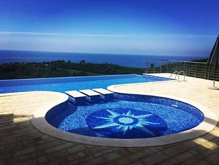 Altezza17: Stunning, Panoramic sea view and pool. Peace & Queit. Luxury.