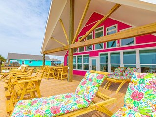 Brand NEW Spectacular Beachfront Beauty FLAMINGO! 5BR incl.upstairs Loft, 4BTH