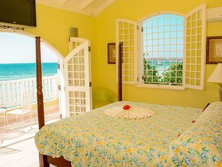 Negril Beach Villa  - you can't buy love, but you can rent paradise!