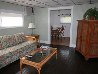 Cozy Cottage with fishing dock on the Indian River Lagoon New Listing