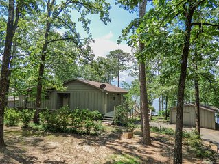 Greers Ferry Lakefront Home w/ Ping Pong Table, Pool Table, & More!