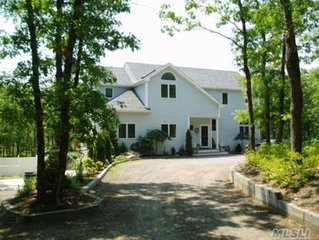 Wooded Serenity, Big Heated Pool, 5BR, Beautiful Beach