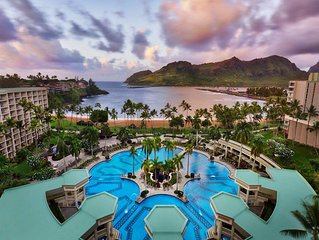 Marriott's Kauai Beach Club, 5* accommodations services and array of activities