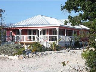 Beautiful Relaxing Sea View Home in Tranquil Exuma, Bahamas.