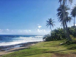 (Los Corales Rental) Intimate Ocean View Beach House, Pet Friendly, Wifi, Pool.