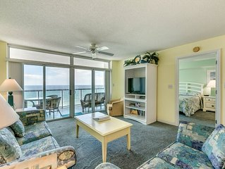 Oceanfront 11th Floor. Free Wifi, Sundeck, Pools