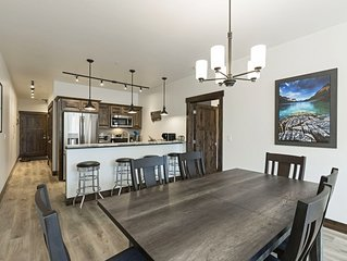 Brand new, immaculate condo in downtown Columbia Falls