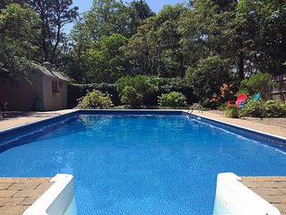 Prices cut! Private, spacious, 5BR - huge heated pool, central AC