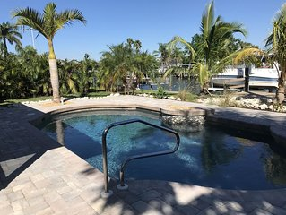 Fisherman's Paradise 2 Bed 2 Bath Canal Home with Heated Pool on Terra Ceia Bay