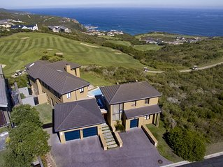 Modern Home With Spectacular Views Of Golf Course And Ocean.