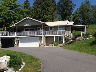 Beautiful home overlooking  Lake Pend Oreille,