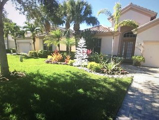 Beautiful Single Family Home In The Quarry 3BR/3BA+Den+Amenities, North Naples.