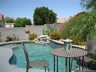 Arizona at its finest. Newly remodeled, heated pool.