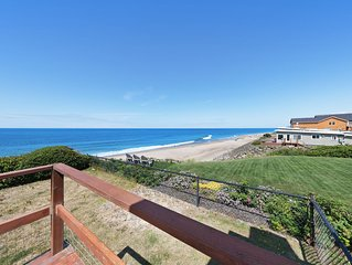 Charming, oceanfront home w/ nearby beach access & amazing ocean views!
