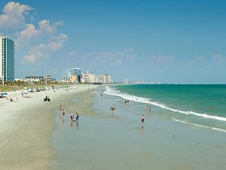 Large Ocean Front Two Bedroom in popular North Myrtle Beach 7/10 to 7/17